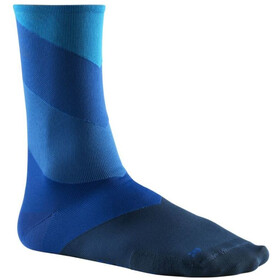 Mavic Graphic Stripes Cycling Socks blue